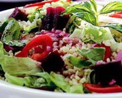 Pancarlı Bulgur Salatası