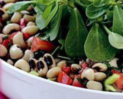 Börülceli Semizotu Salatası