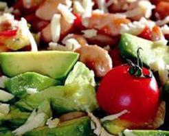 Avokadolu Barbunya Salatası