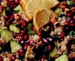 Narlı Bulgur Salatası