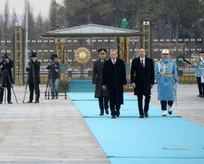 Erdoğan'dan Aliyev'e görkemli karşılama