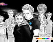 Twilight boyama