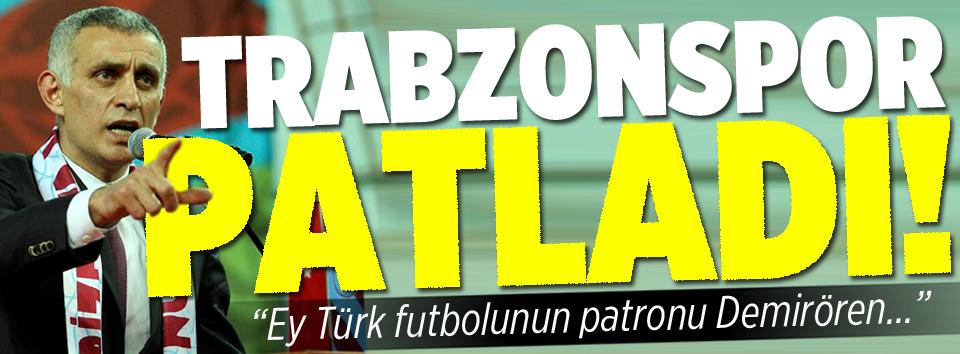 Ey Türk futbolunun patronu Demirören…