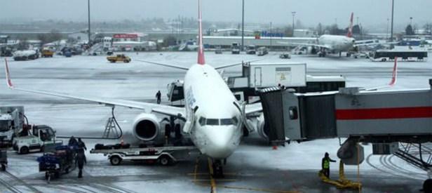 Uçak seferleri iptal