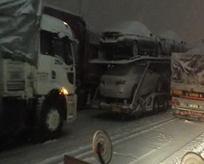 TEM Otoyolu tamamen trafiğe kapandı!