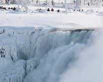 Niagara Şelaleleri bu kadar donmadı