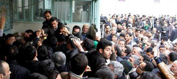 Ahmedinejad'a taziyede büyük ilgi
