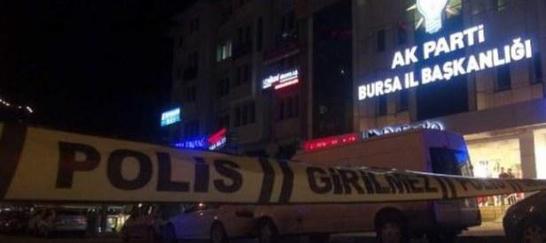 Ak Parti il binası önünde bomba paniği!