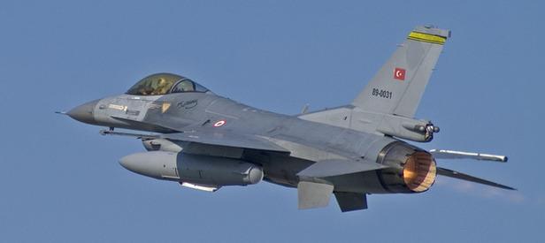 F-16'lar sınıra gönderildi