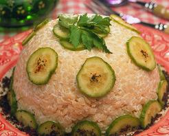 Yoğurtlu Mayonezli Kuskus Salatası Tarifi