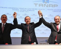 TANAP'ta tarihi adım