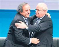 Tek aday olan Michel Platini 3.kez başkan