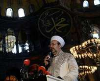 Ayasofya'da Kur'an sesleri