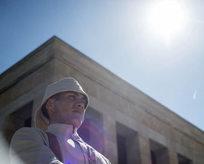 Anıtkabir'de Çanakkale ruhu