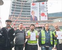 CHP'liler işçileri dövdü