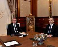 Cumhurbaşkanı, MİT Müsteşarı Fidan'ı kabul etti