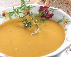 Hindistancevizli Tatlı Patates Çorbası Tarifi