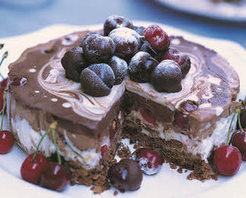 Kirazlı Çikolata Pasta Yapılışı