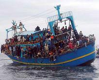 Göçmen teknesine saldırı