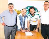 2 yıllık imza attı Kabze Akhisarda