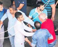 Otogarda silahlı çatışma