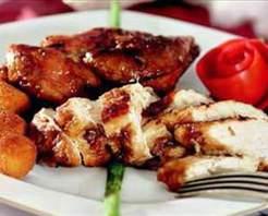 Balzamik Sirkeli Sarımsaklı Tavuk