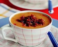 Pastırmalı Tarhana Çorbası