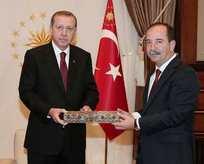 Cumhurbaşkanlığı Külliyesi'ne giden ilk CHP'li