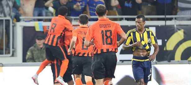 Fenerbahçe Ukrayna'da dağıldı