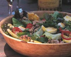 Hellimli Yaz Salatası Tarifi