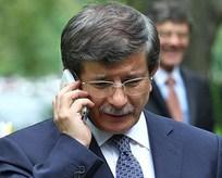 Davutoğlu'ndan Sancak'a geçmiş olsun telefonu