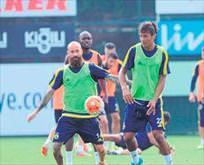 Bruno Alves takımla çalıştı