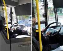 Telefonla konuşan otobüs şoförüne ceza