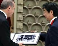 Abe'den Erdoğan'ı duygulandıran hediye
