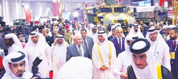 Katar'la 500 milyon dolarlık el sıkıştık