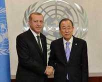 Ban Ki-mun'dan Erdoğan'a telefon
