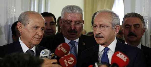 Bahçeli Kılıçdaroğlu'nun teklifini reddetti