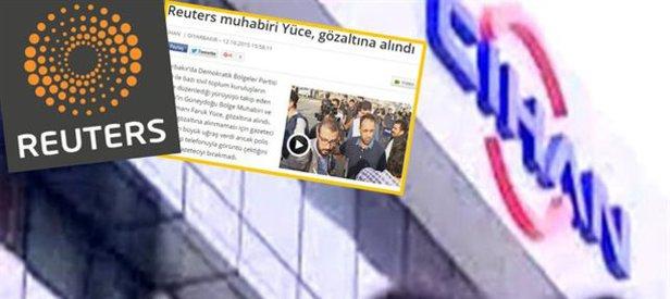 Cihan'dan 'Reuters' yalanı