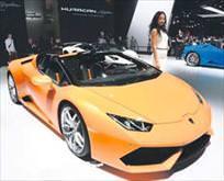 Lamborghini'ye polis baskını