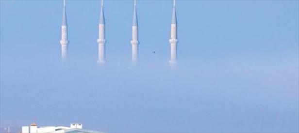 Selimiye'yi sis bastı