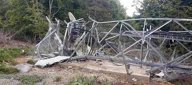 PKK 227 baz istasyonunu tahrip etti