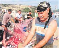 Balık ağına 90 bin lira takıldı