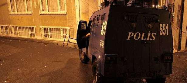 İstanbul'da terör örgütüne şafak baskını