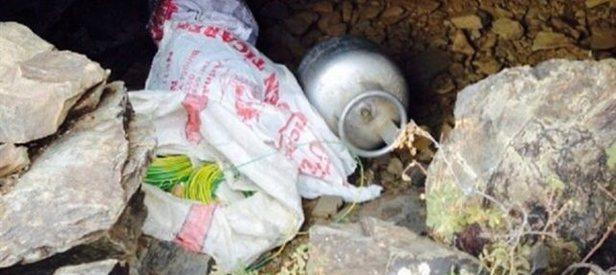 HDPli başkanın evinde patlayıcı bulundu