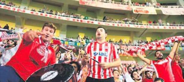 Antalya Arena'da ilk karşılaşma