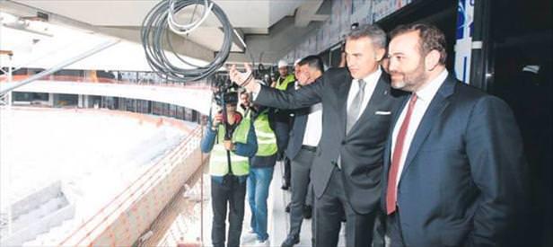 Arena'nın açılışına Barça gelecek