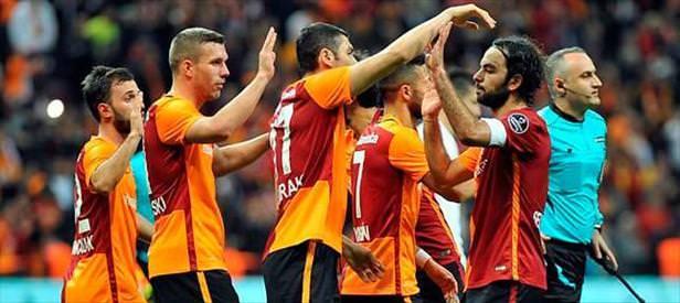 Galatasaray hesabı kesti