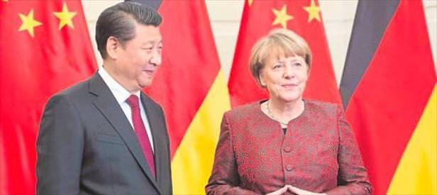 Merkel panda istedi