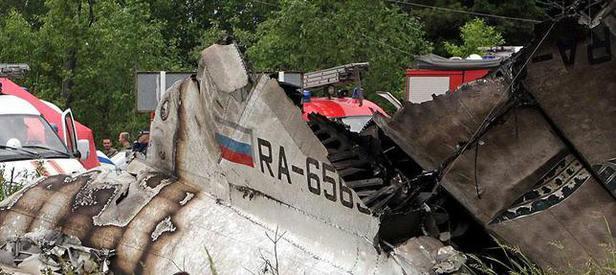 Yolcu uçağı 224 yolcusuyla düştü