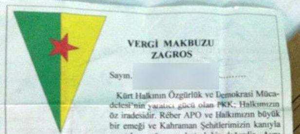 PKK esnafı canından bezdirdi
